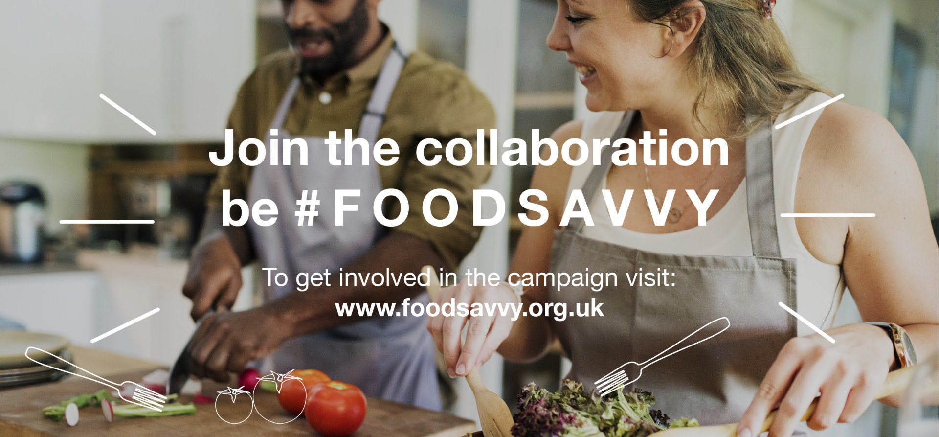Join the collaboration, be Food Savvy