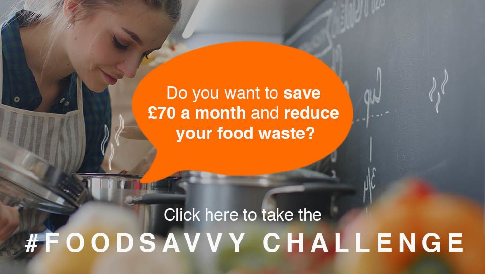 Click here to take the Food Savvy challenge
