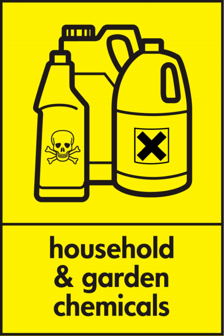Household and garden chemicals